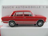 Busch 50559 Lada 1600 Limousine / WAS 2106 (1976) in orangerot 1:87/H0 NEU/OVP