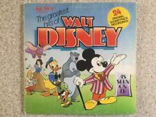 The Greatest Hits Of Walt Disney LP Album Vinyl Record RTD2013 24 Film Songs
