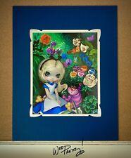2013 Jasmine Becket Griffith Disney Alice Wonderland WonderGround Deluxe Print