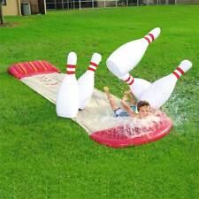 Bestway 5.49m Slide N Splash Bowling Slider Inflatable Water Ourdoor Game Toy