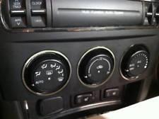 D Mazda MX5 MX 5 NC Chrom Ringe für Gebläseschalter - Edelstahl poliert  3 Ringe