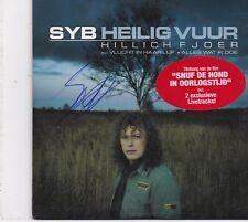 Syb Van Der Ploeg-Heilig Vuur cd single Gesigneerd