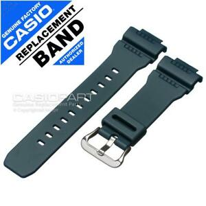 Genuine Casio Blue Rubber Watch Band Strap for G-Shock G-Rescue G-7900 G-7900-2