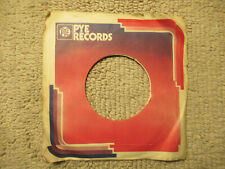 sleeve only PYE     45 record company sleeve only 45