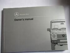 MANUAL DE INSTRUCCIONES Benz W 463 GE 500 Propietario S ge500 Inglés CLASE G