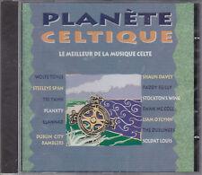 CD 18T PLANÈTE CELTIQUE TRI YANN/SOLDAT LOUIS/SHAUN DAVEY/WOLFE TONES...NEUF