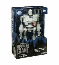 """Warner Bros. The Iron Giant 15"""" Light Sound Walking Robot Toy Movable Arm - New"""