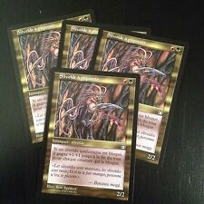 MTG MAGIC STRONGHOLD SPINED SLIVER (SLIVOIDE A PIQUANTS) NM X4