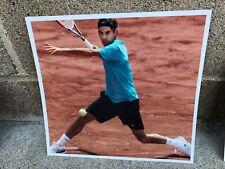 "Nike RARE 2008 Roger Federer 8.5""x8"" Supershot Ad Poster Tennis Memorabilia"