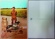 """Cartolina Postale """"PARA' DOTAZIONE LANCIO - FOLGORE"""" - Anni '80 (Originale)"""