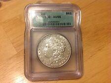 1883 S Morgan Silver Dollar $ ICG AU 55 White Better Date