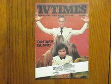 Aug. 30, 1980 TV Times TELE-VUE(FANTASY ISLAND/DANIELLE BRISEBOIS/ARCHIE'S PLACE