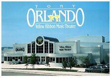 Tony Orlando Yellow Ribbon Music Theater Missouri Postcard Cond: Vg