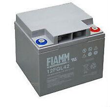 Batteria al piombo ricaricabile FIAMM 12 V 42 A 12FGL42