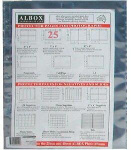 Albox archival 7x5 / 13x18cm photo sleeves (25)