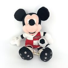 Walt Disney World Mickey Mouse Plush Bean Bag with Soccer Ball & Uniform
