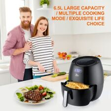 Digital Air Fryer 1700W 6.5L Less Oil  LED Touch Time Temp Control Multi Cooking