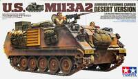 Tamiya 1:35 US M113A2 Armoured Personnel Carrier Desert Version Kit #35265