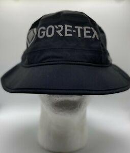 New Era Life Gore-Tex Black Bucket Cap Polyamide Size XL