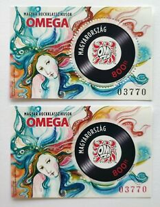 HUNGARY 2020 -  Hungarian Rock Classics I. Omega: Pearls in Her Hair MNH