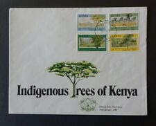 Kenia FDC 1986 - Indigene Bäume