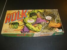 VINTAGE 1979 PALITOY THE INCREDIBLE HULK BOARD GAME COMPLETE