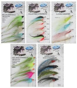 Dragon Tackle Saltwater Flies / Bass / Fly Fishing