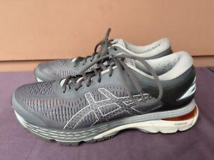 EUC! Asics Gel Kayano 25 1012A026 Women US 9.5 Gray Athletic Running Shoes D6