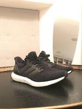 BB6166, Adidas Chaussures – ultraboost Noir/Noir/blanc, hommes, 2017, textile