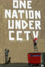 One Nation Banksy Poster 12x18 inch