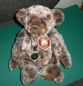 """Charlie Bears 2009, Jooles 10"""" Fully Jointed Plush Retired"""