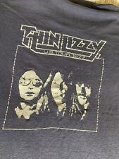 Thin Lizzy Rare Showco shirt 1977