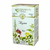 Organic Thyme Leaf Tea 24 Bags  by Celebration Herbals