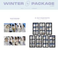 BTS - 2021 WINTER PACKAGE PHOTOCARD & 6-CUT FILM PHOTO JUNGKOOK V JIMIN SUGA JIN