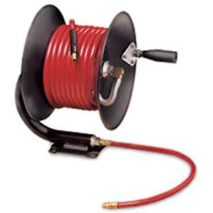 Legacy Manufacturing L8650 Workforce Manual Air Hose Reel, Open Face, Fixed,