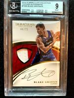 CRACKD SLAB BLAKE GRIFFIN 2014 BGS 9 MINT IMMACULATE COLLECTION PATCH 9 AUTO