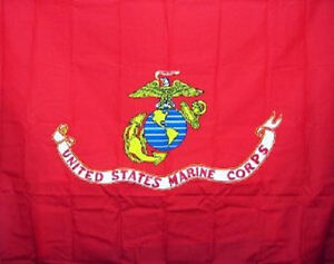 USMC Marines Semper Fi Shower Curtain 70x72 Polyester Bathroom Set with Hooks