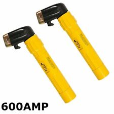 (PACK OF 2) 600AMP Welding Electrode Holders MMA Arc welder rod handle 600A