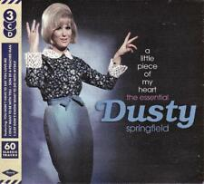 DUSTY SPRINGFIELD - A LITTLE PIECE OF MY HEART - THE ESSENTIAL (NEW SEALED 3CD)