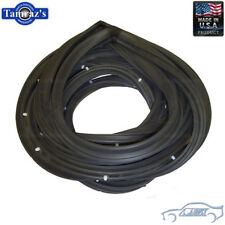 1968-1972 El Camino Door Weatherstrip Seals 5032 SoffSeal USA MADE New