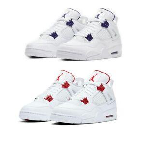Neu jordan 4 retro white cemen sportschuhe klassiker der serie 4