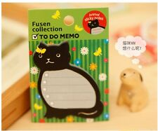 Kitty Cat Type Post Bookmark Marker Memo Flags Point Pad Index Tabs Sticky Notes