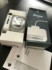Apple Retail Boxed Power Supply & Dock Kit For iPhone 2G 1st MA816 For Collector