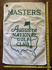 Vintage Masters Augusta National Golf Club Tourament Official Golf Towel PGA