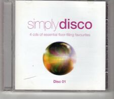 (HO577) Simply Disco, 15 tracks various artists - 2008 CD 1 only