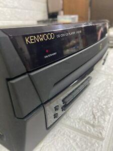 Kenwood Rare CD Cdv Ld Player Model LVD-59