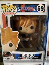 Funko POP! Ichigo #59 - Shonen Jump Bleach Vaulted + Protector Mint!