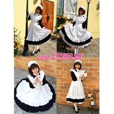 lockable Sissy maid Cotton dress Unisex cosplay Tailor-made[CK355]