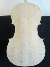 SONG Brand Copy Yo-Yo-Ma Unfinished cello 7/8, solid wood white cello  #11190