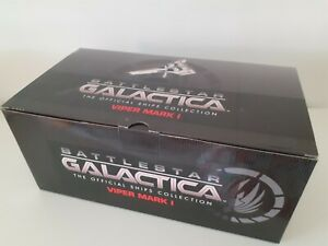 "EAGLEMOSS BATTLESTAR  GALACTICA SHIPS COLLECTION  ISSUE 4  ""VIPER MARK ONE"""